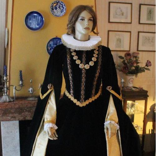 Abito storico abiti storici 1600 barocco abito storico for Stile missione spagnola